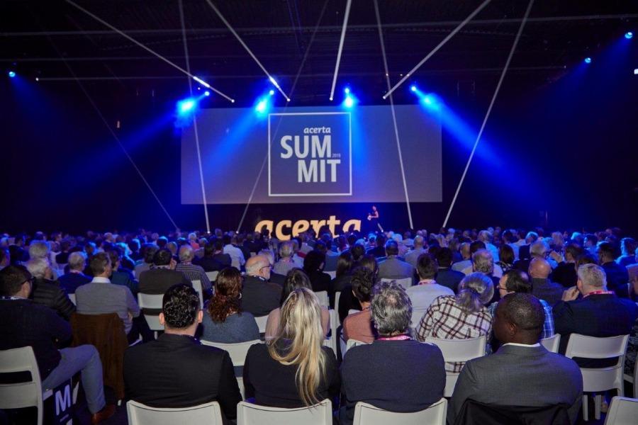 Play AV soutient l'Acerta Summit 2019 au Docks Dome